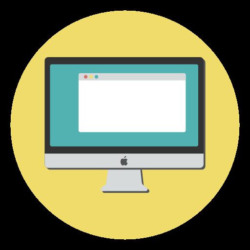 Computer, device, imac icon, mac, monitor, screen icon - Free download