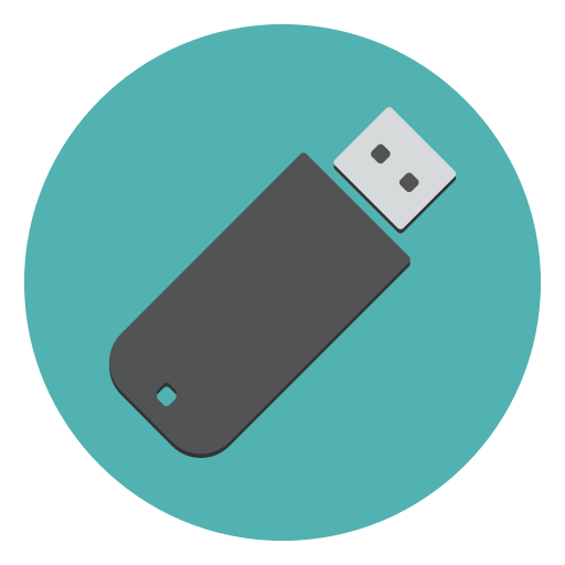 how to change usb icon