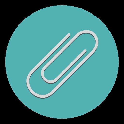 attach, attachment, clip, collate, include, paper, paperclip icon