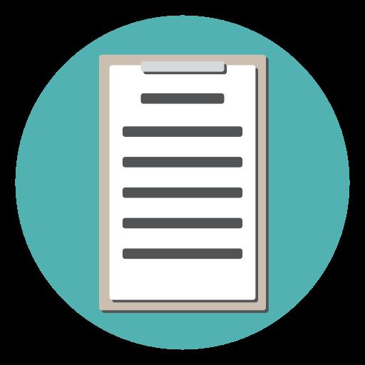 checklist, clipboard, document, form, survey, tracklist icon