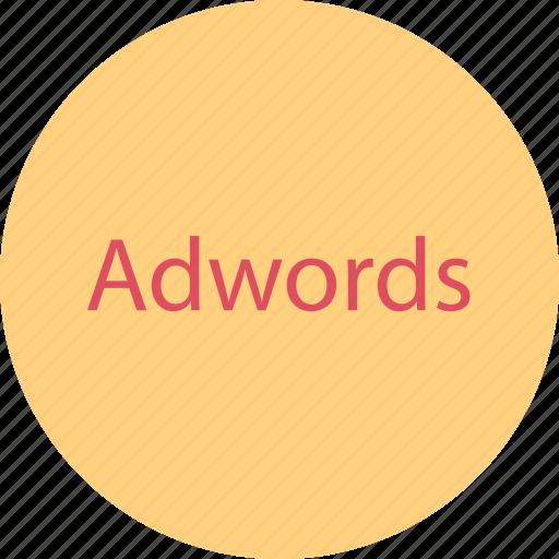adwords, clicks, google, sale icon