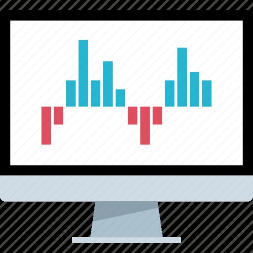 analytics, pc, seo, web icon