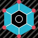 cube, eye, internet, online, server, web