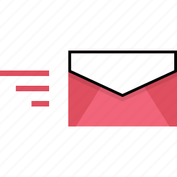 delivery, email, fast, message icon