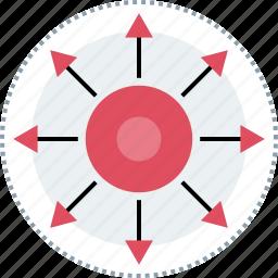 analytics, extended, seo, web icon