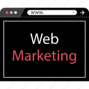 marketing, seo, web icon