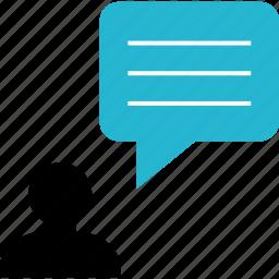 chat, conversation, marketing, talk icon
