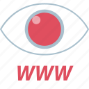 eye, watch, watches, www icon