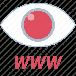 eye, watch, watches, www icon