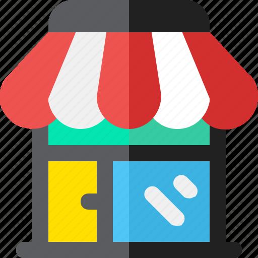 Market, shop, store icon - Download on Iconfinder
