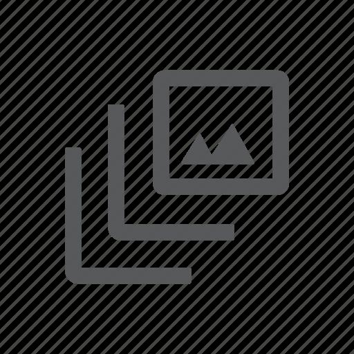 display, gallery, image, picture, portfolio icon