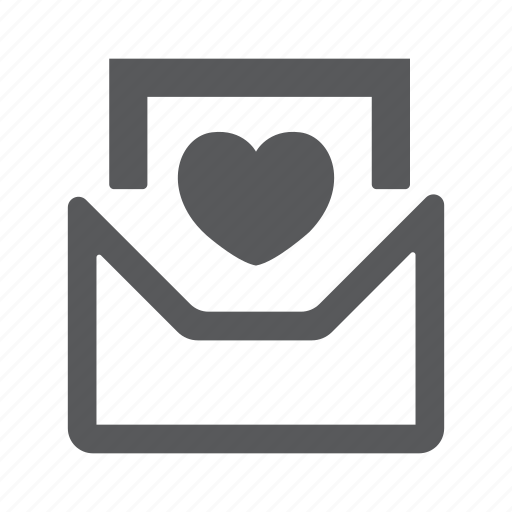 email, envelope, family, letter, love, mail, message icon