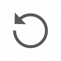 arrow, refresh, reload, renew, retry icon