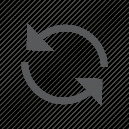 arrows, recycle, refresh, reload, renew, restart, retry icon