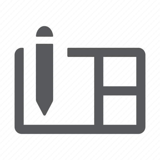 list, note, pencil, study, workspace icon