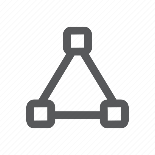 comunication, connection, network, node icon