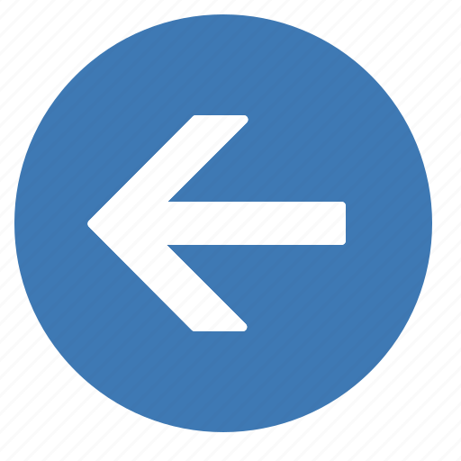 arrow, direction, gps, left, location, navigation icon