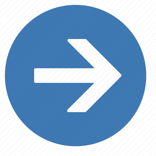 arrow, arrows, direction, gps, location, navigation, right icon