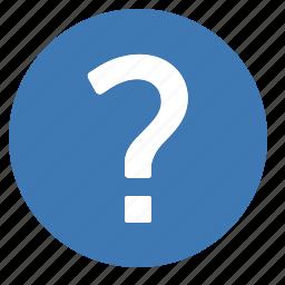 customer, faq, help, interrogation, question, service, support icon