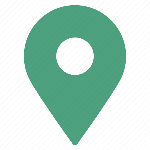 gps, green, location, marker, navigation, pin, pointer icon