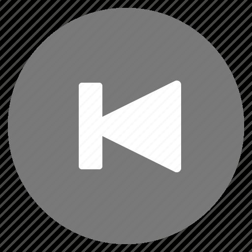 goto, media, multimedia, music, previous, video icon