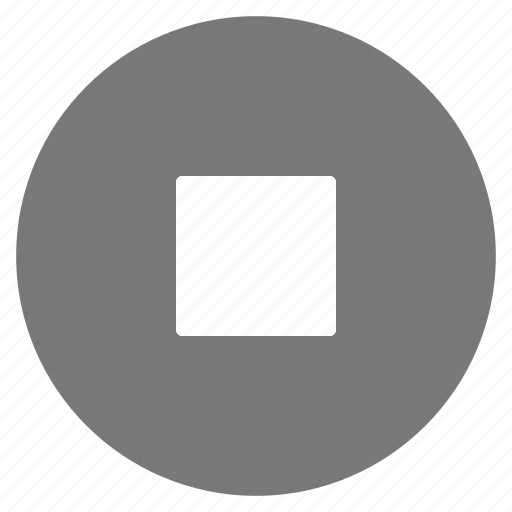 film, media, movie, multimedia, music, stop, video icon