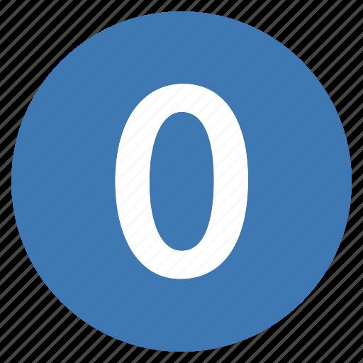 number, numbers, pro, zero icon