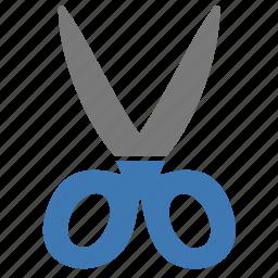 clipboard, construction, cut, design, scissors, tool, work icon