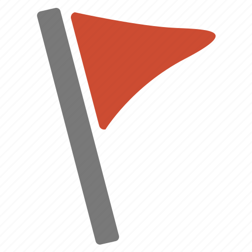 flag, important, location, marker, pin, rally, red icon