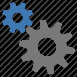 complex, configuration, gears, mechanics, options, preferences, settings icon