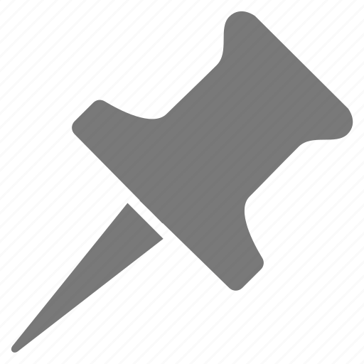 gray, grey, important, marker, pin, point, pointer icon