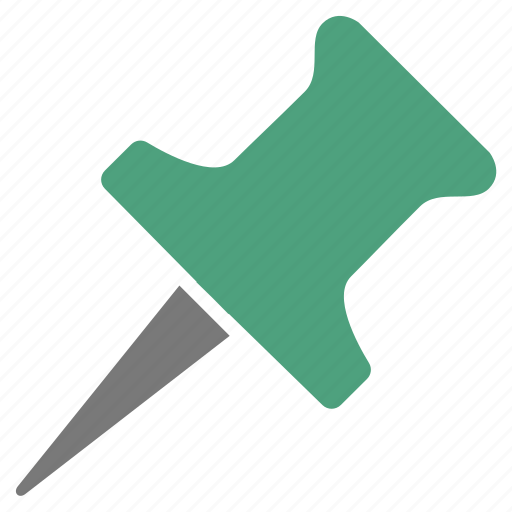 Green, pin, important, marker, pointer, point icon - Download on Iconfinder