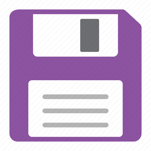 diskette, document, file, save, save as, storage, work icon