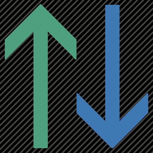 arrow, arrows, sort, up icon