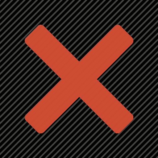 cancel, close, delete, exit, remove, stop, user icon