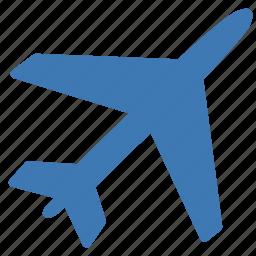 airplane, flight, plane, plane mode, transport, transportation, travel icon