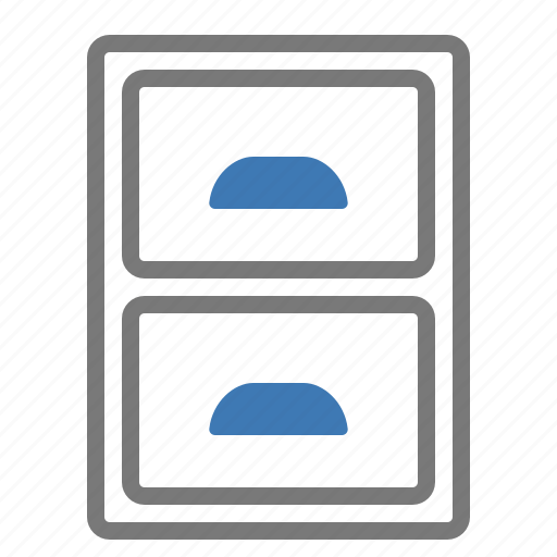 archive, documents, drawer, files, storage icon