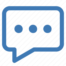 comment, discuss, discussion, forum, message, talk, write icon