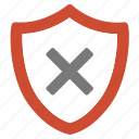 error, not secured, problem, secure, unsafe, warning icon