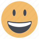 emoji, emoticon, emotion, expression, face, smile, smiley icon