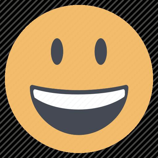 emoji, emoticon, emotion, expression, face, smile, smiley icon
