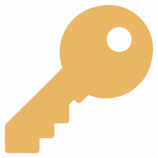key, lock, open, protection, security, serial icon