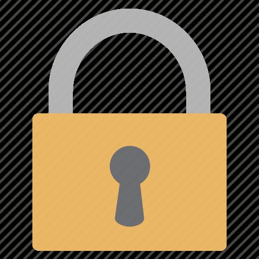 locked, padlock, protect, security icon