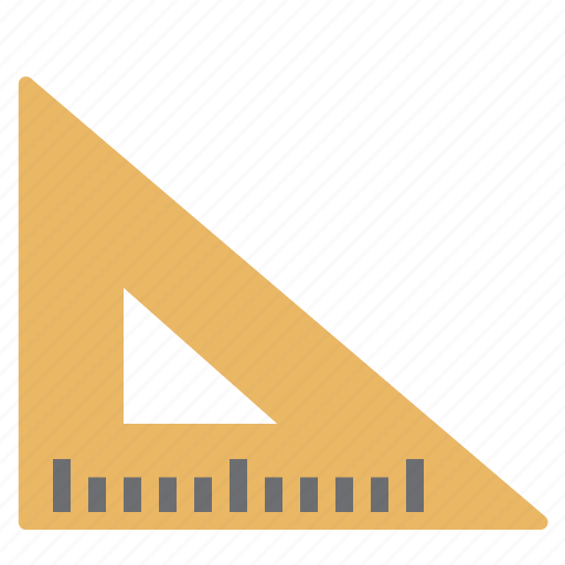 design, ruler, square, tool, work icon