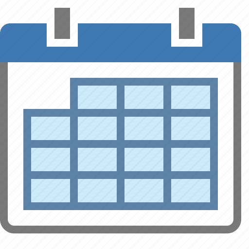 all, calendar, day, months, selection icon