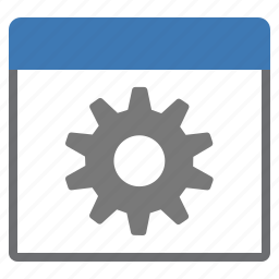 gear, preferences, settings, window icon
