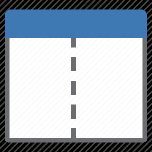 split, vertical, window icon