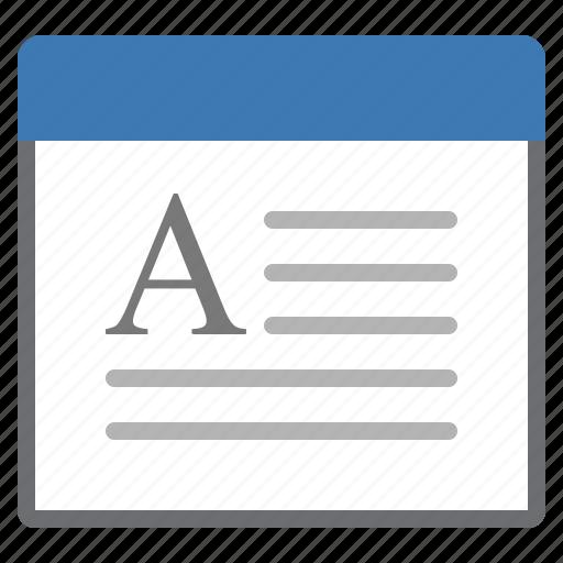 processing, window, word icon