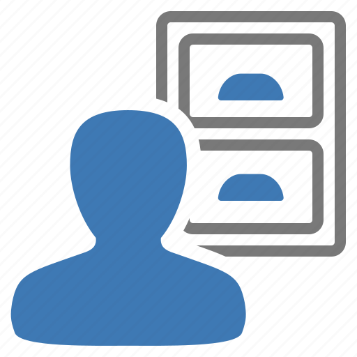 archive, drawer, information, management, past, user icon