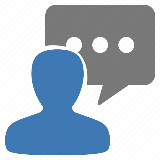 chat, discuss, management, message, talk, user, writing icon